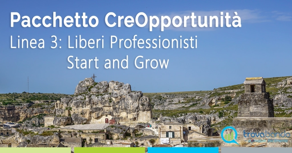 LIBERI PROFESSIONISTI START AND GROW: il terzo bando di CreOpportunità