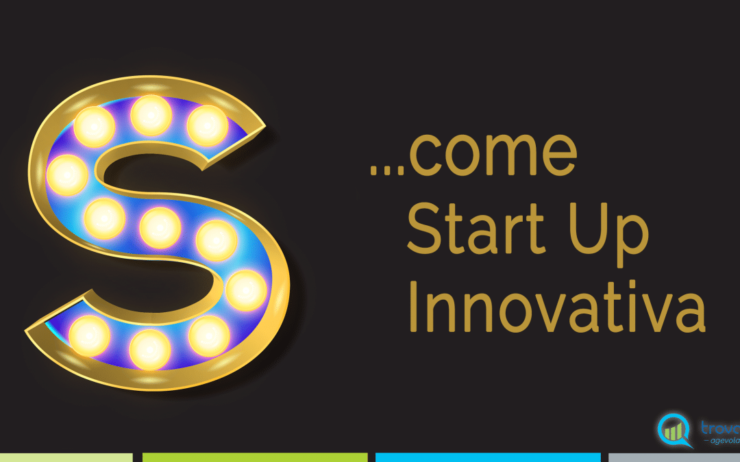 S…come Start Up innovativa
